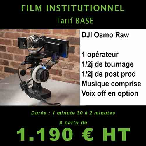 Film institutionnel martinique - Pack de base