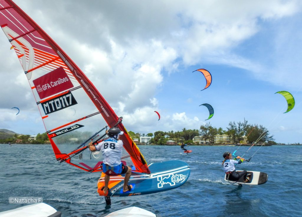 kitesurf et windsurf en Martinique à la Baz Notik